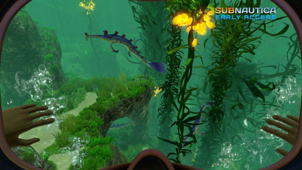 Subnautica kelp forest